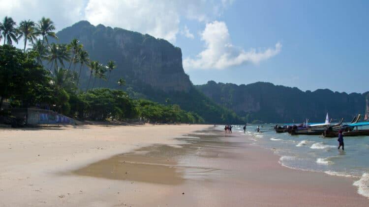 no misadventures at the Ao Nang beach