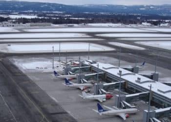 Oslo airport Norway