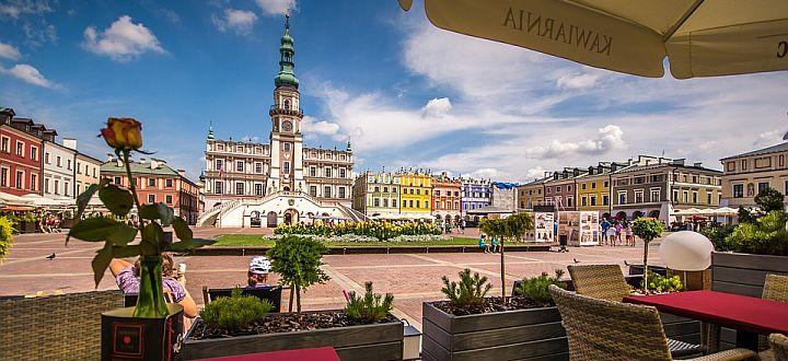 Zamość near Lublin