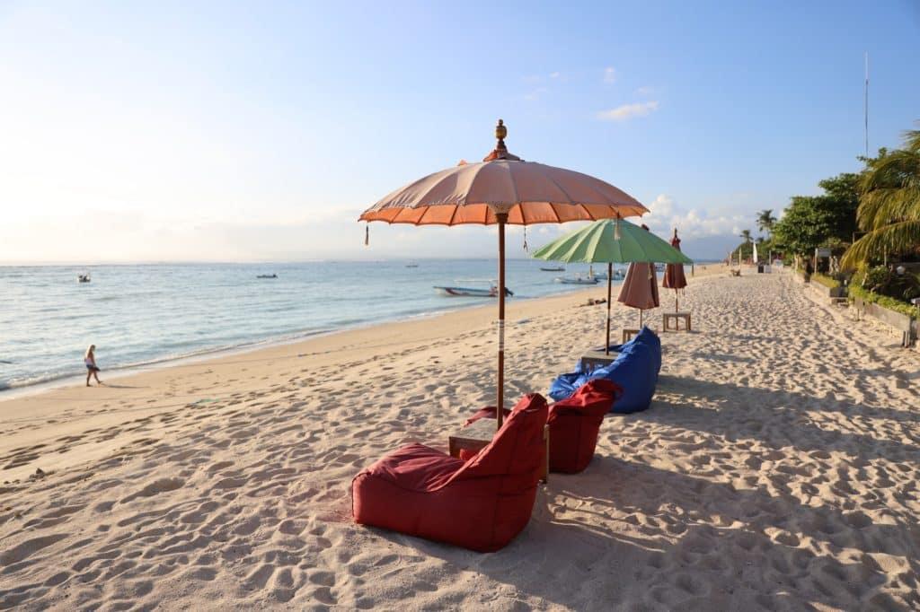Beach clubs in Bali