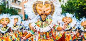 Spanish carnival in Andalucia