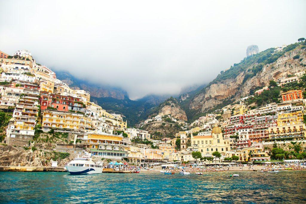 Amalfi coat in italy