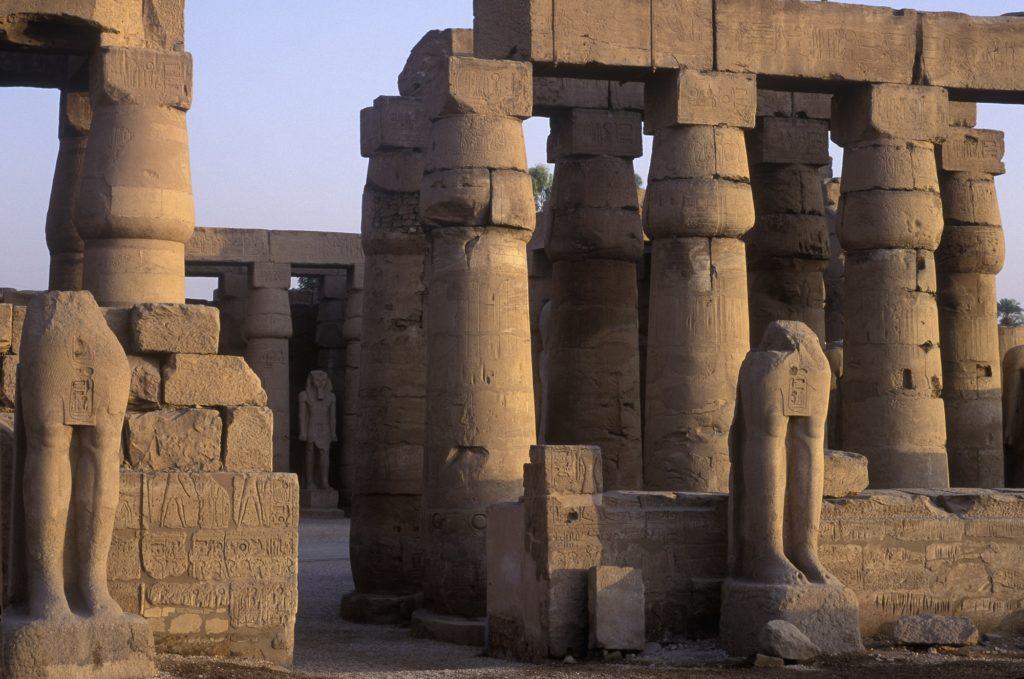 Temple Ruins at Karnak, Luxor, Egypt