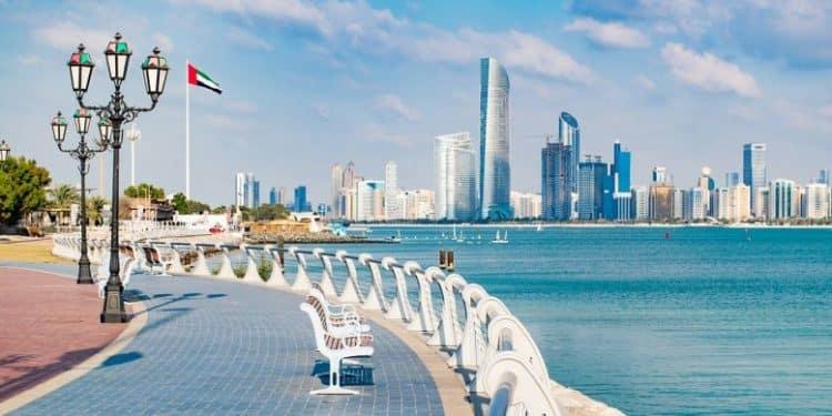 Abu Dhabi's corniche
