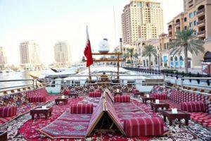 Dhow Cruising in Doha Qatar
