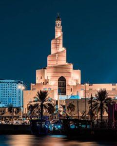 building in Doha, Qatar