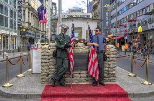 checkpoint-charlie at Berlin Wall