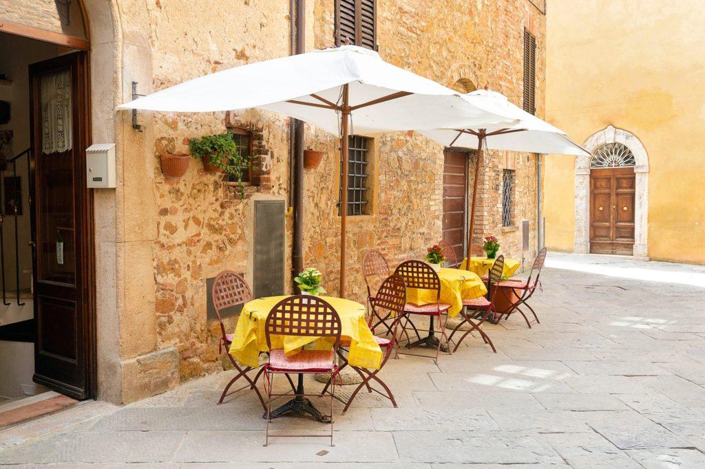 Italian street, Tuscany