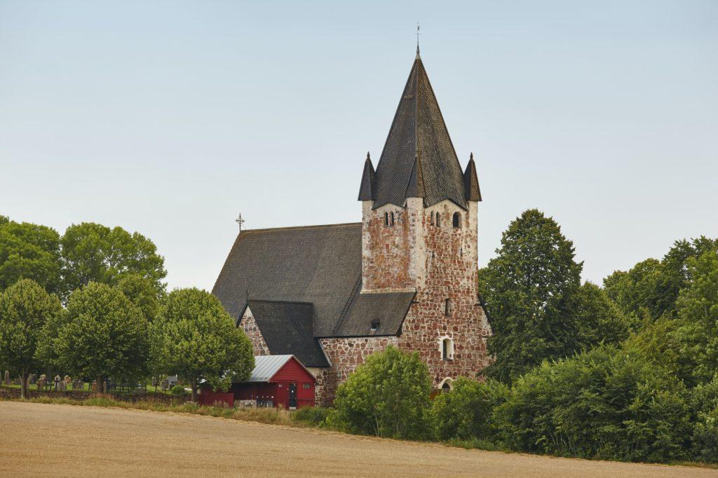 St. Mikacis church, Finstrom. Aland archipelago