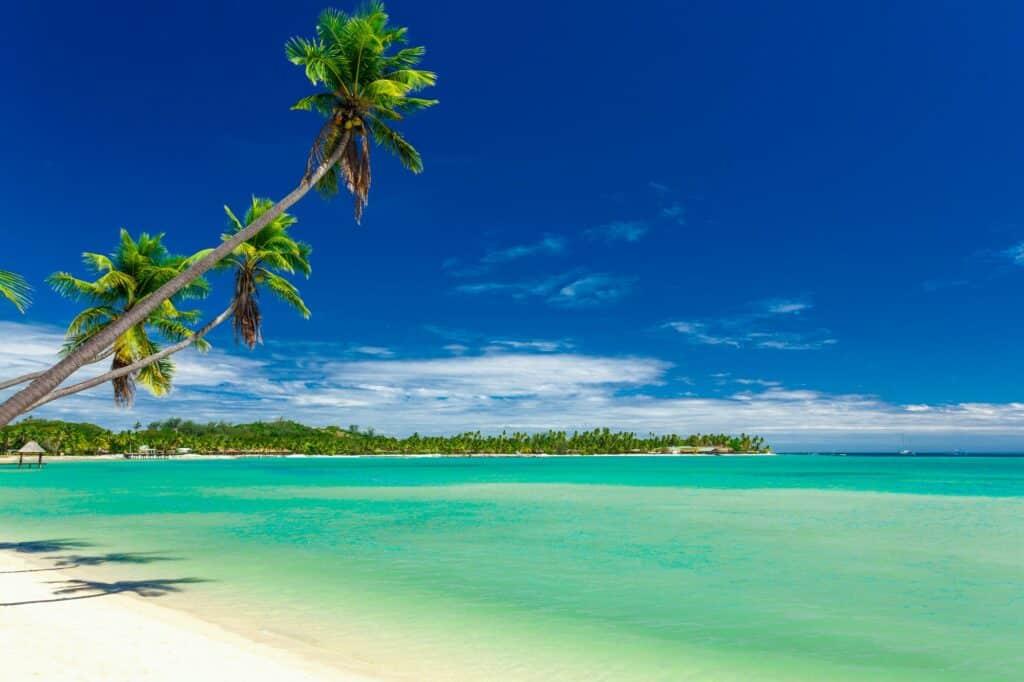 lagoon in Fiji