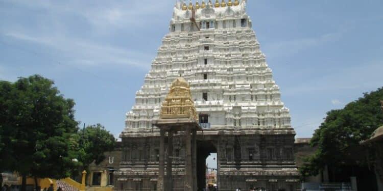 Hindu Temple in Pondicherry