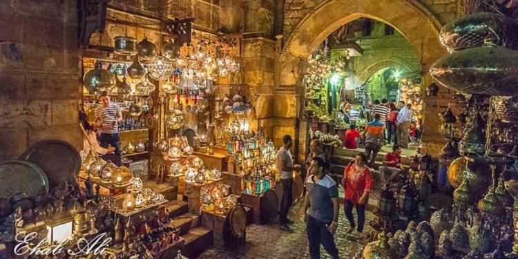 Khan el-Khalili market in Egypt