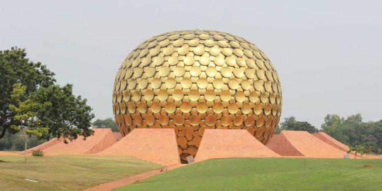 Matrimandir n Pondicherry