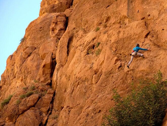 Morocco Climbing