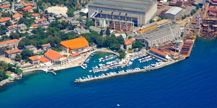 Rijeka in Croatia