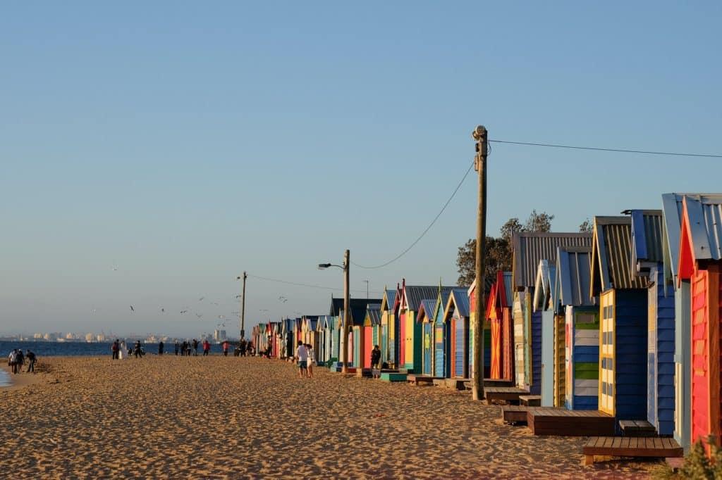 brighton beach bathing box melbourne, australia