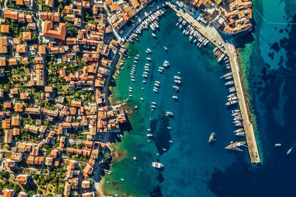 Costal View of Dubrovnik. Croatia