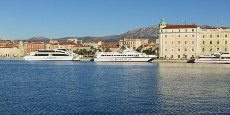 ferries in Croatia's ports