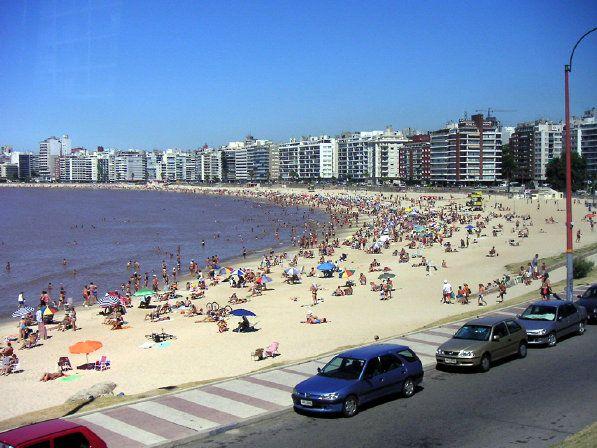 the Rambla in Montevideo