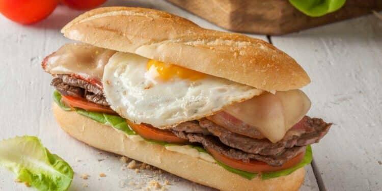 sandwich in Montevideo